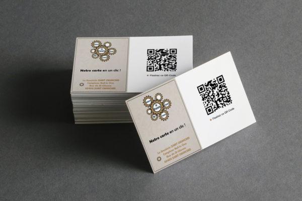 Carte menu QR Code